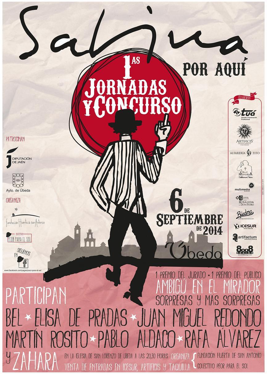 CARTEL PRIMERAS JORNADAS Y CONCURSO SABINA POR AQUI opt2