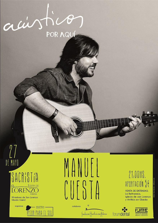 CARTEL MANUEL CUESTA opt